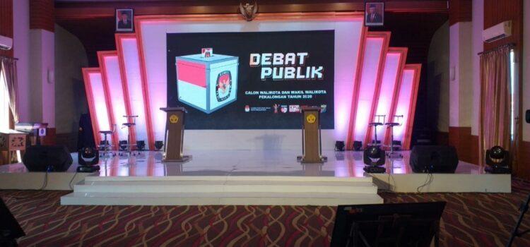 Panggung Debat Pilwalkot Pekalongan 2020